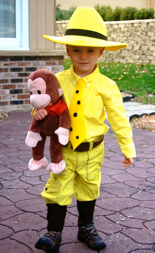 curious george diy costume