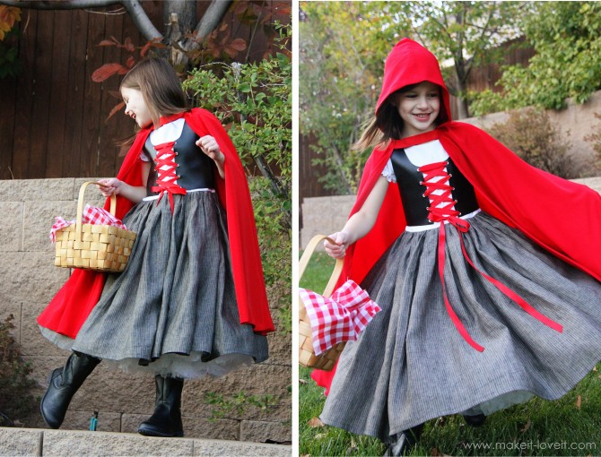 Costume Ideas for Girls - Little Red Riding Hood