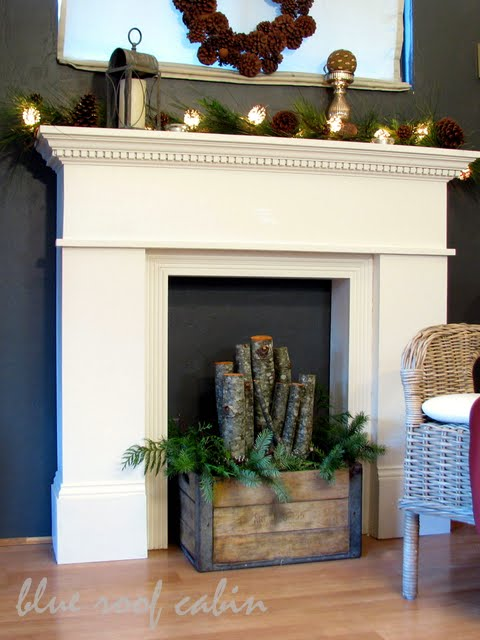 diy mantel