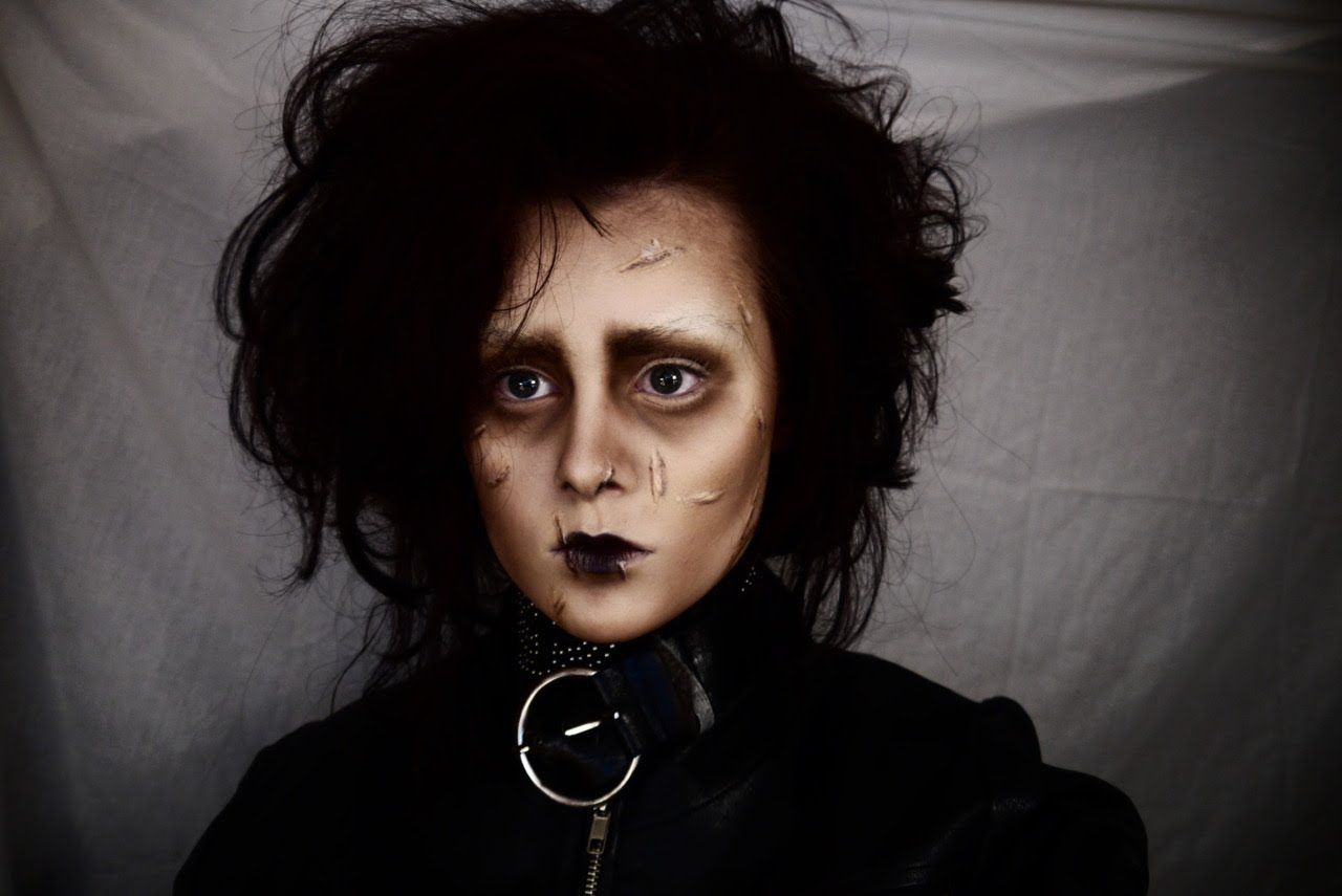 edward Scissorhands diy makeup