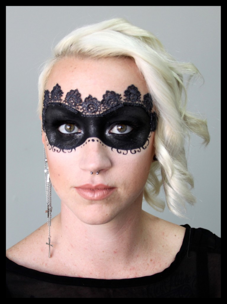 halloween mask makeup 767x1024