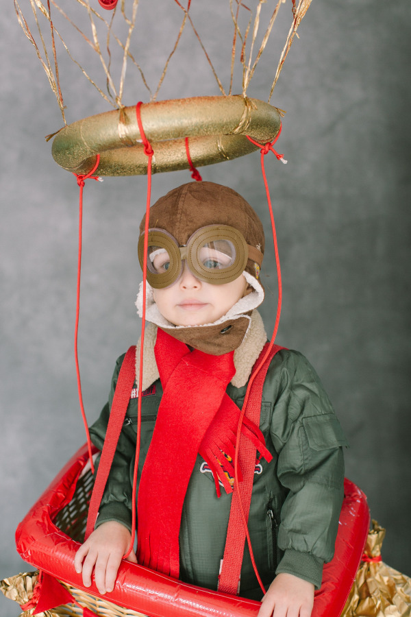 hot air balloon diy costume
