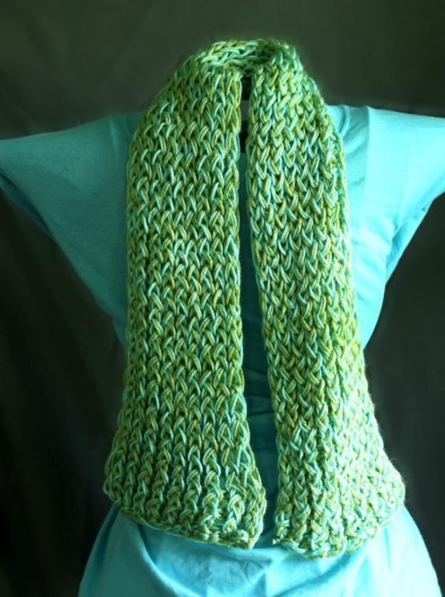 loom scarf