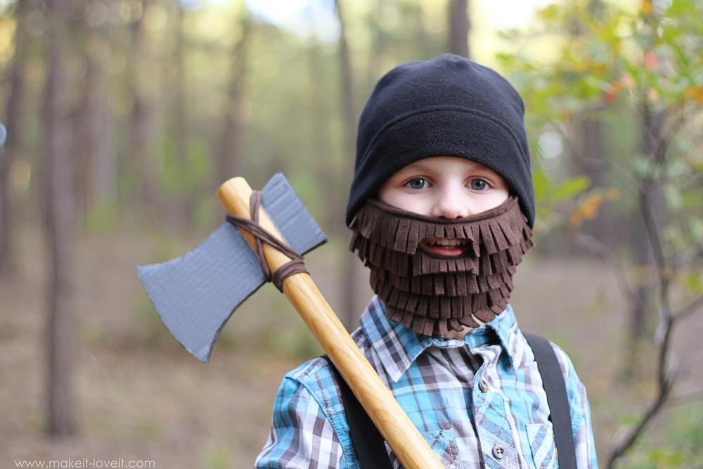 lumberjack diy costume