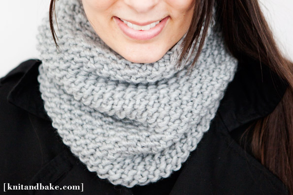 one skein cowl diy scarf