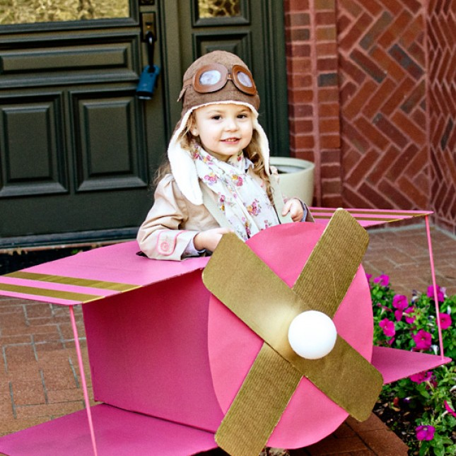 Halloween Costumes for Girls - Airplane Pilot