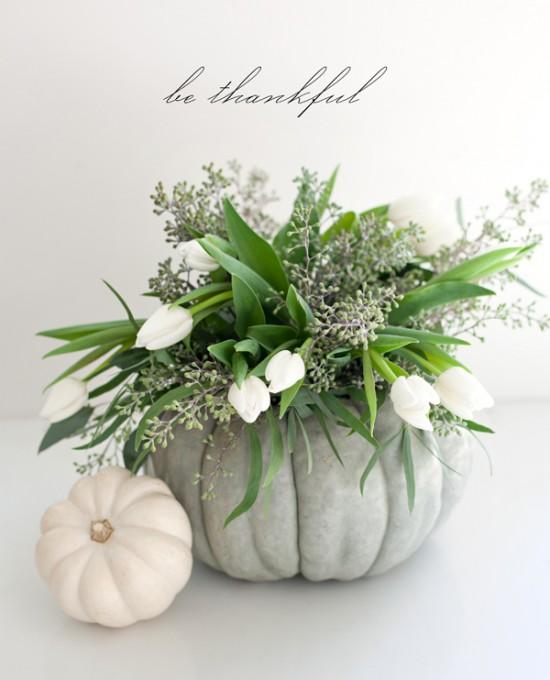 Pumpkin Bouquet - Thanksgiving Home Decor