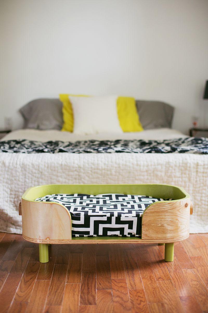 retro dog bed diy