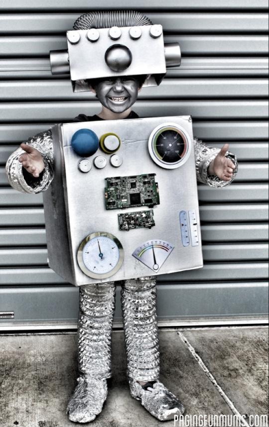 robot costume diy