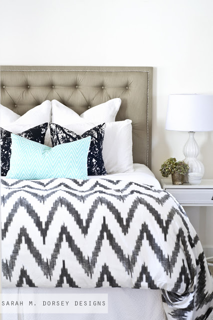 tufted upholstered headboard tutorial