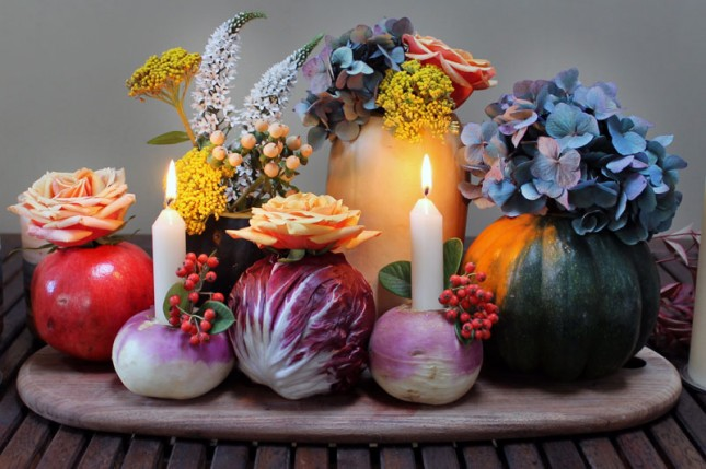 vegetable centerpiece