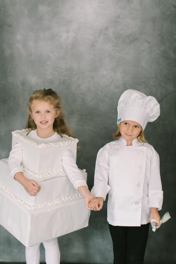 Halloween Costume Ideas - Pastry Chef & Cake