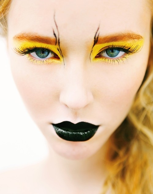 yellow bird makeup