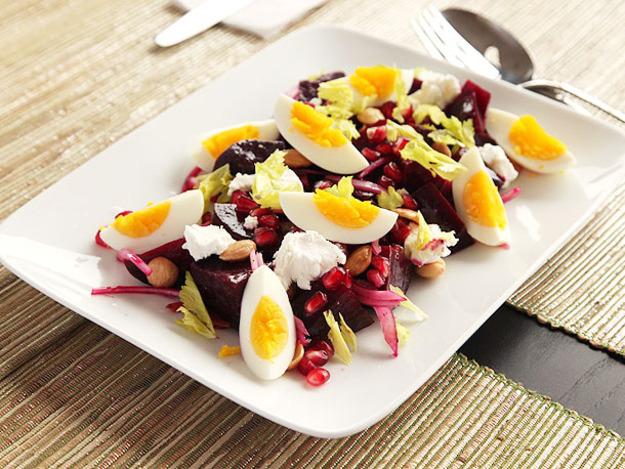 Beet Egg Winter Salad Recipe