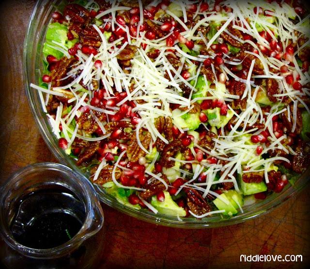 California Autumn-Winter Salad Recipe