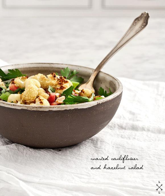 Cauliflowers and Hazelnut Salad Recipe