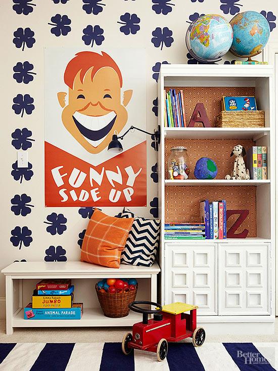 DIY Bookshelf Trim