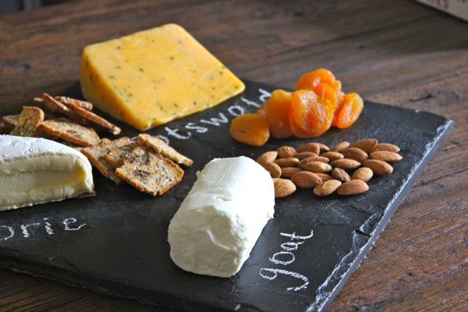 DIY Chalkboard Cheese Stone