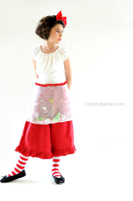 DIY Christmas Busy Apron