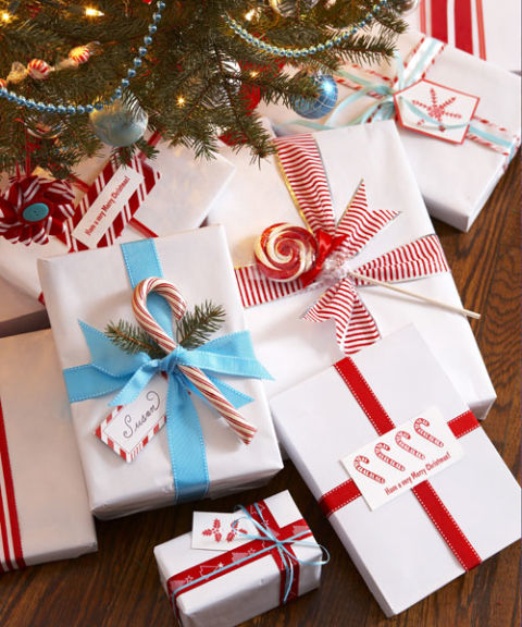 DIY Christmas Gift Wrapping
