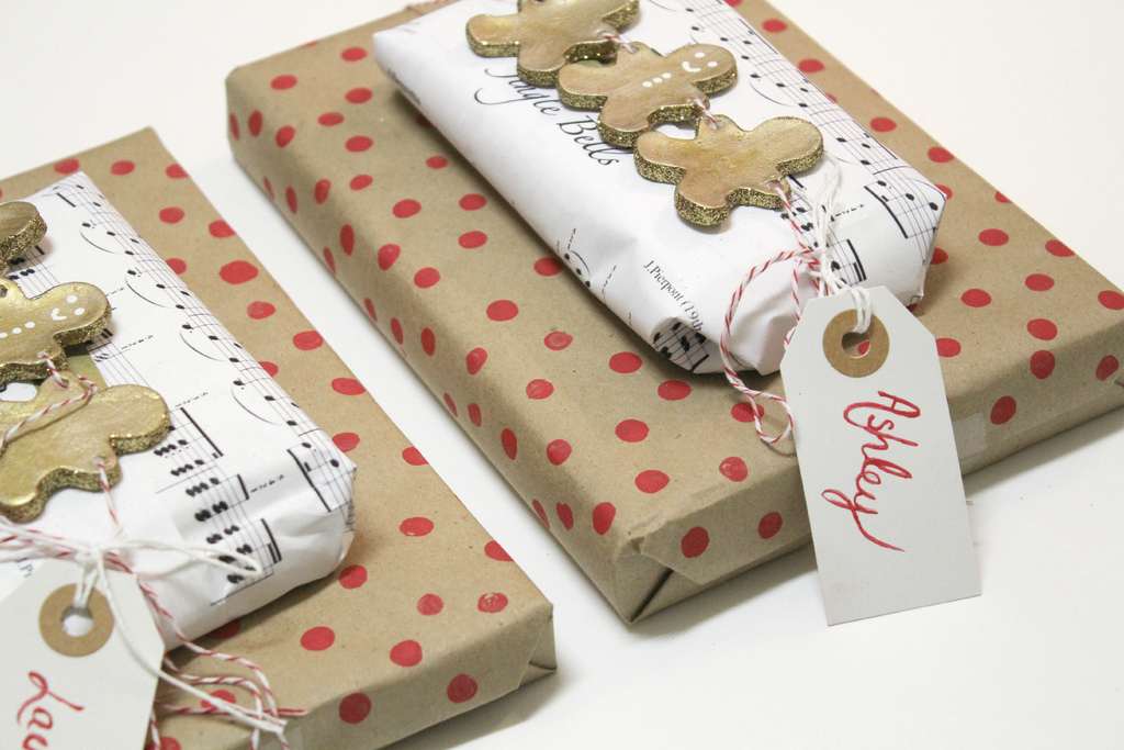 Diy Christmas Packages Easy Craft Ideas