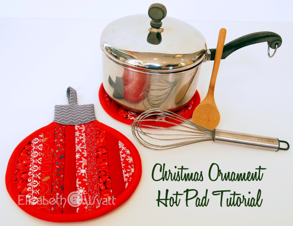 DIY Christmas Hot Pad