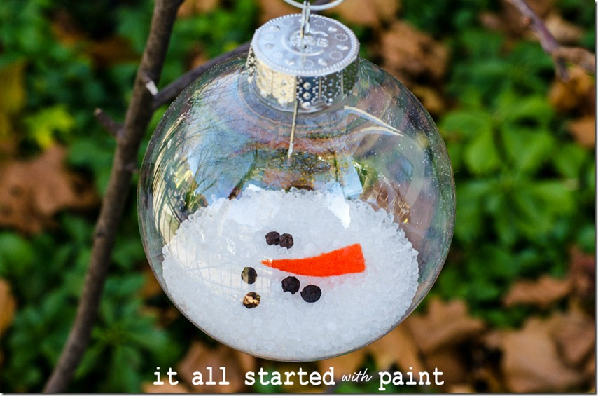 diy christmas ornaments - Homemade Christmas Ornament Ideas