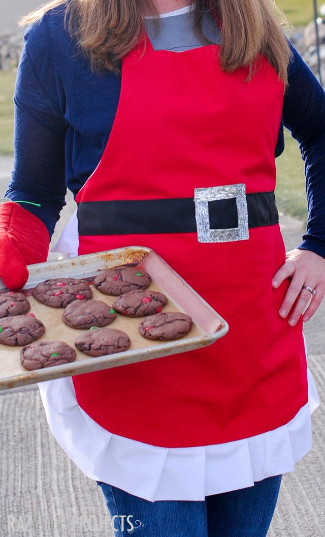 DIY Christmas Santa Apron