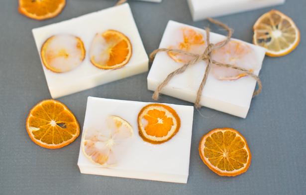 DIY Citrus Soap