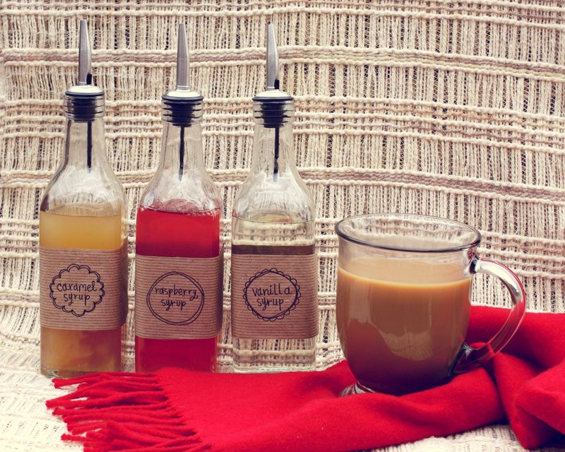 DIY Coffee Syrups