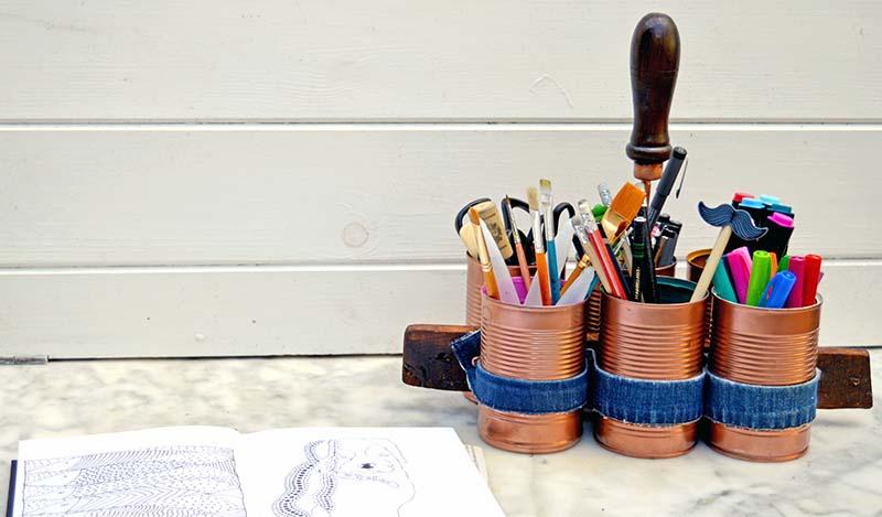 15 Diy Craft Room Caddies