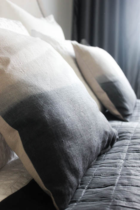 DIY Dip Dye Pillows