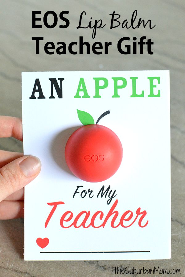 DIY Eos Apple Gift