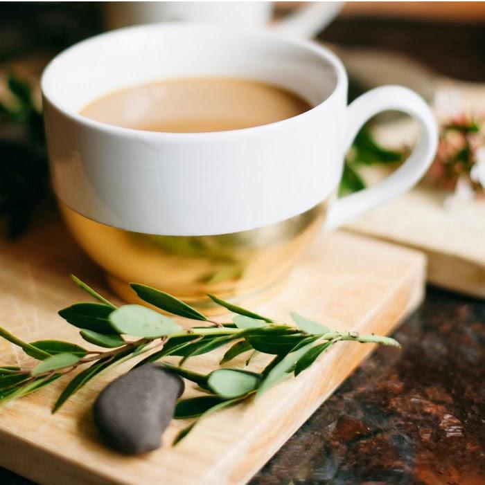 DIY Gold Dipped Mug