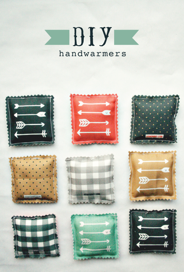 DIY Hand Warmers Favor