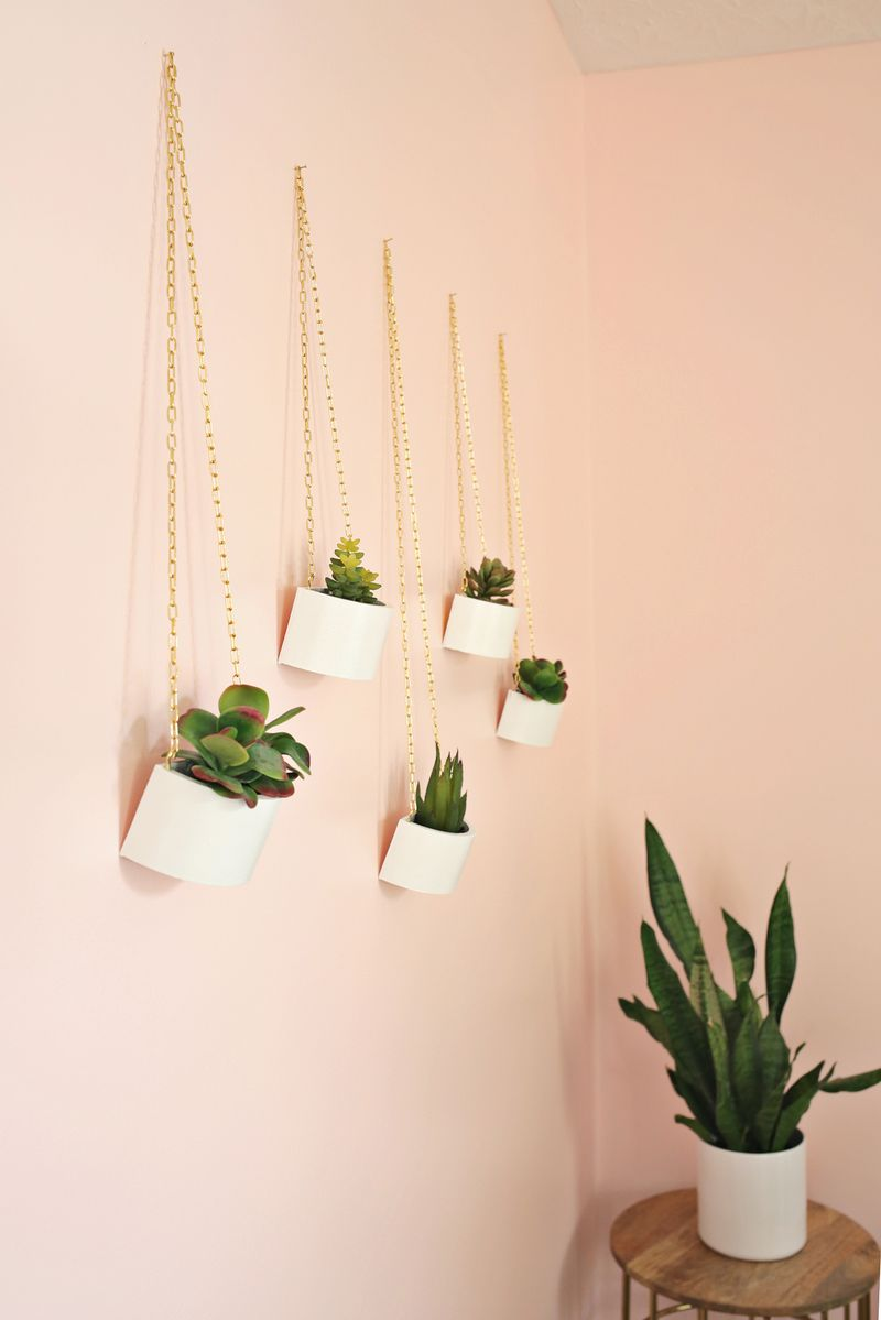 DIY Hanging Planters Images