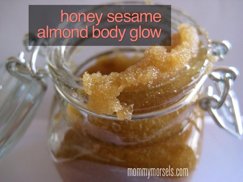 DIY Honey Sesame Body Glow