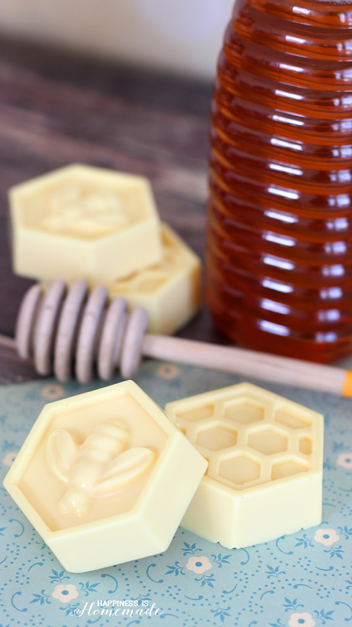 DIY Milk & Honey Soap Favor