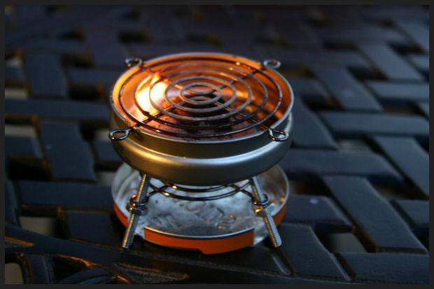 DIY Mini BBQ Grill