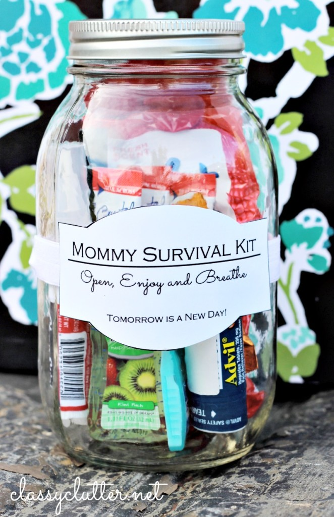 DIY Mommy Survival Kit