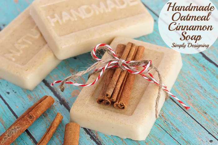 DIY Oatmeal Cinnamon Soap