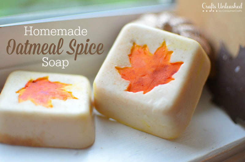 DIY Oatmeal Spice Soap