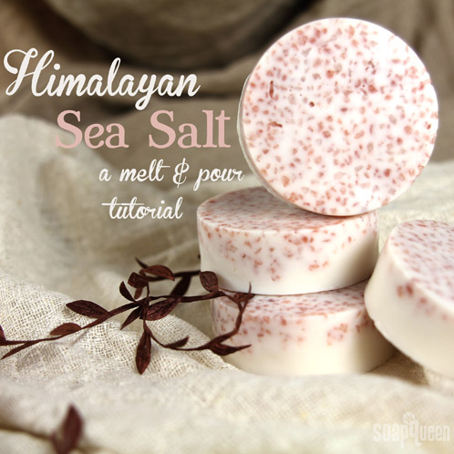 DIY Pink Salt Soap
