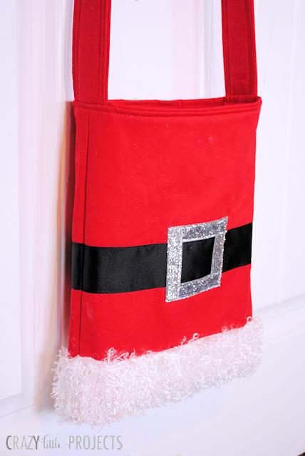 DIY Santa Tote Bag