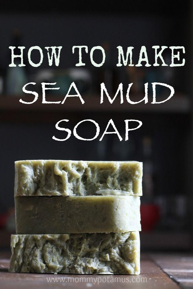 DIY Sea Mud Soap