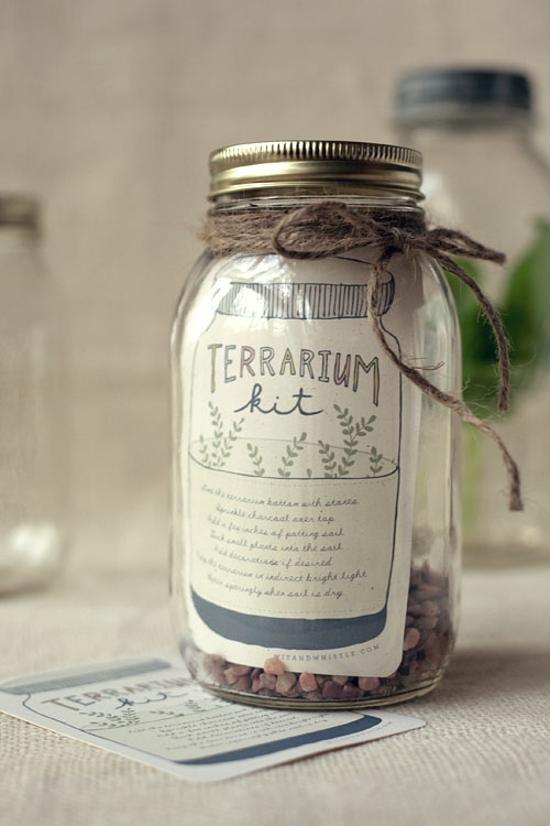 DIY Terrarium Favor