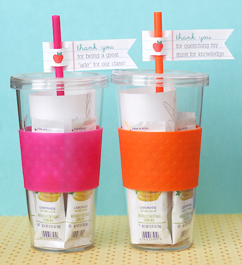 DIY Tumbler Teacher Gift