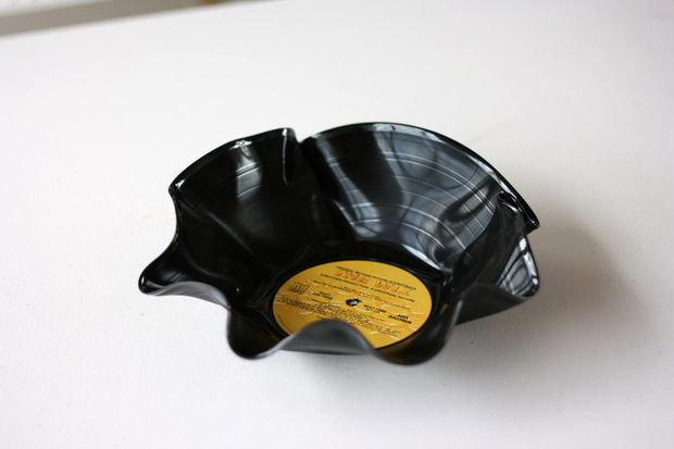 DIY Vinyl Record Bowl