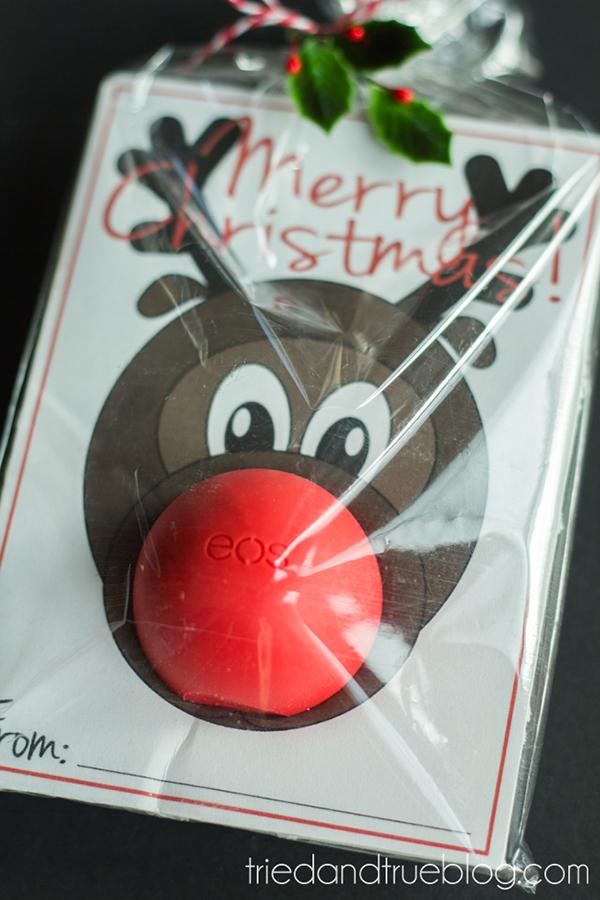 DIy Reindeer Eos Christmas Favor