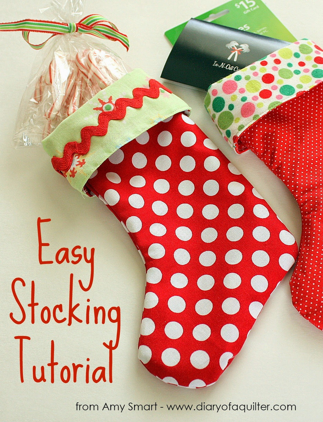 Easy Stocking DIY